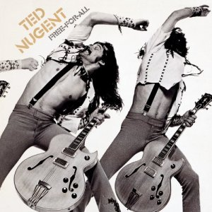 Ted Nugent - Free For All - promo album cover pic - 1976TN