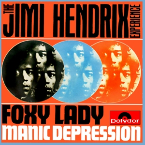 The Jimi Hendrix Experience - Foxy Lady - promo 45 - single cover sleeve - 1967JH