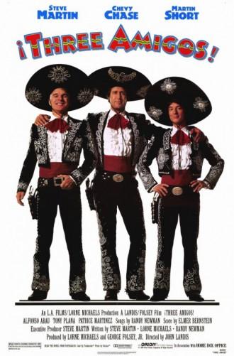 !Three Amigos! - promo movie poster - 1986 - #121214