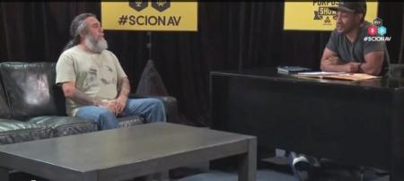 Tom Araya - Slayer - Scion AV - interview pic - #2014TA