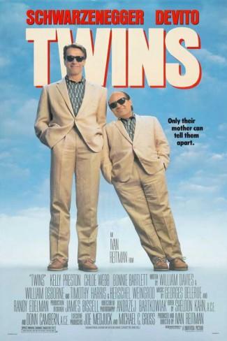 Twins - promo movie poster - #1988ASDD