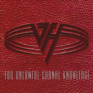 Van Halen - For Unlawful Carnal Knowledge - promo album cover pic - #1991SH