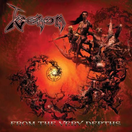 Venom - From The Very Depths - promo cover album pic - 2014 - DEC