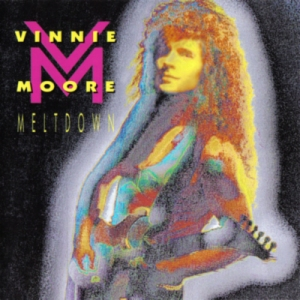 Vinnie Moore - Meltdown - promo album cover pic - 1991VM