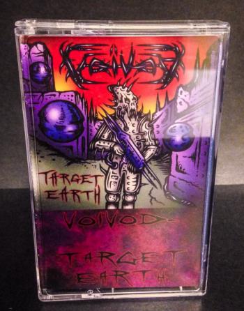 Voivod - Target Earth - cassette promo pic - 2014P