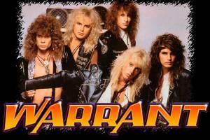 Warrant - promo band pic - band logo - Jani Lane - #1990WRJL