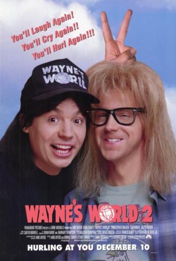 Waynes World 2 - promo movie poster pic - #3312