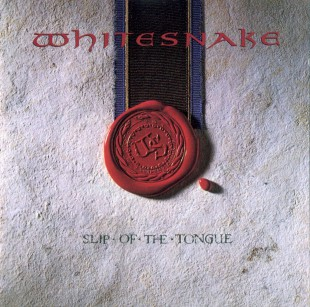 Whitesnake - Slip Of The Tongue - promo cover pic - #1989DCW
