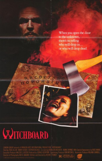 Witchboard - promo movie poster - #1986WHM