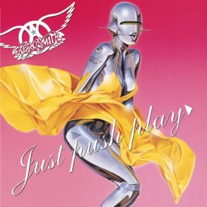Aerosmith - Just Push Play - promo album cover pic - #2002AMO