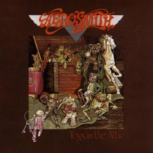Aerosmith - Toys In The Attic - promo album cover pic - #1975STMO