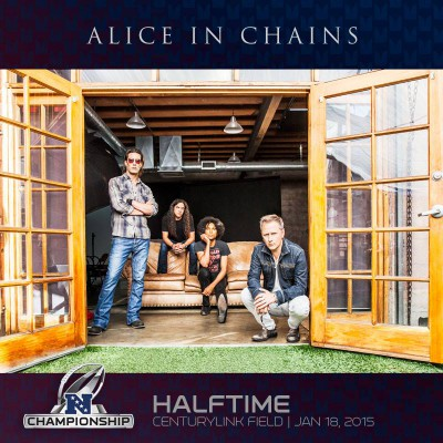 Alice In Chains - NFC Championship Halftime Show - promo flyer - 2015