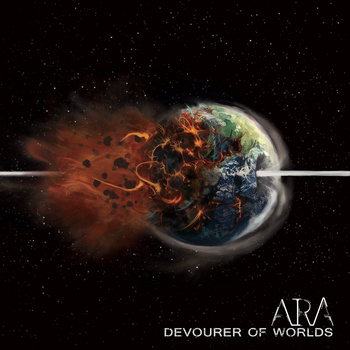 ARA - Devourer Of Worlds - promo album cover pic - #2015ARA