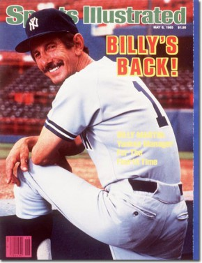 Billy Martin - Sports Illustrated Cover Feature - #19978BMBB