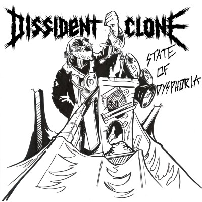 Dissident Clone - State Of Dysphoria - promo album cover pic - #2015DCMO