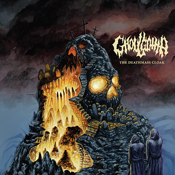 Ghoulgotha - The Deathmask Cloak - promo cover pic - #2015G