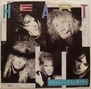 Heart - Theres The Girl - promo promo 45rpm cover sleeve - #1988H