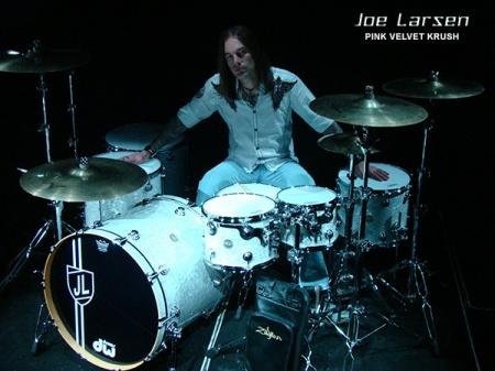 Joe Larsen - Pink Velvet Krush - promo pic - #2015PVK