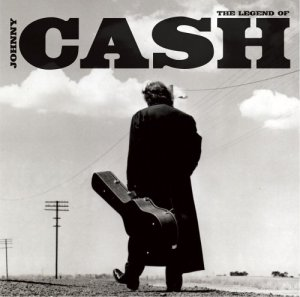 Johnny Cash - The Legend Of - promo album cover pic - #2005JCL