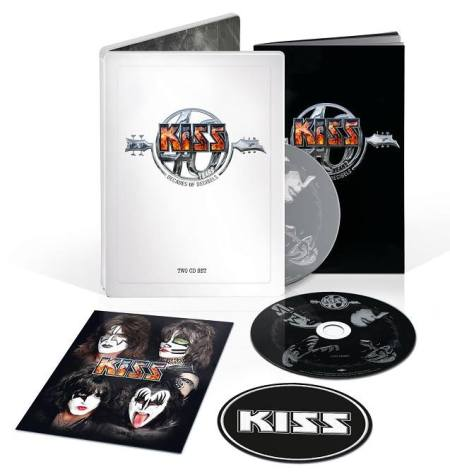 Kiss - 40 compilation - Germany - steel book - #2015KGS