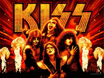 KISS - wallpaper - promo poster pic - #777MO33