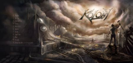 KOLONY - promo album banner - Sledge - track listing