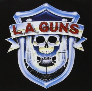 L.A. Guns - promo self-titled album cover pic - #1988LA