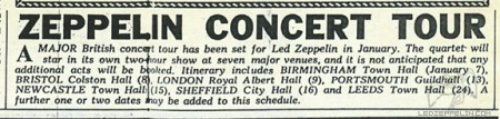 Led Zeppelin - Concert new press - January 24 - #1970LZMO