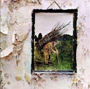 Led Zeppelin - IV - promo album cover pic - #1971JPRP