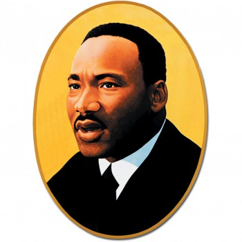 Martin Luther King Jr. - cutout - promo pic - #2015MLKJ