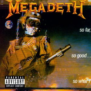 Megadeth - So far so good so what! - cover promo - #1988DM
