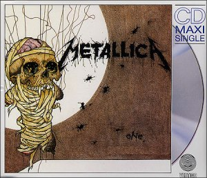 Metallica - One - CD single cover - German issue - #1989