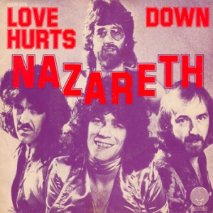 Nazareth - Love Hurts - promo 45rpm single cover sleeve - #1976DM