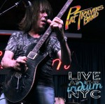PAT TRAVERS BAND - LIVE at the Iridium - promo cover pic - #2015PT