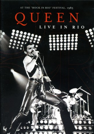 Queen - Live In Rio - promo DVD cover pic - #1985RIRFM
