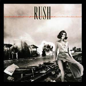 Rush - Permanent Waves - promo album cover pic - #1980GL