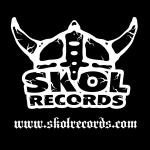 Skol Records - classic logo - BW - #2015SRMO