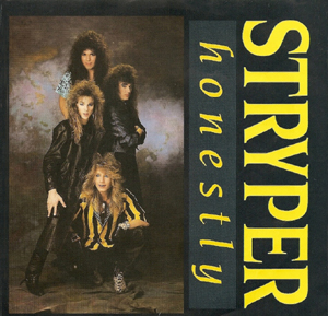 Stryper - Honestly - promo 12 inch single - cover art - #1987SMO777