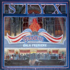 Styx - Paradise Theatre - promo cover pic - #1981STYX