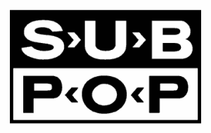 SUB POP - record label logo - #010115