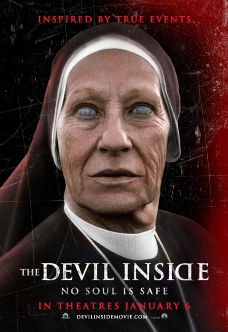 The Devil Inside - promo movie poster pic - Horror - #2012 - 0206TDI