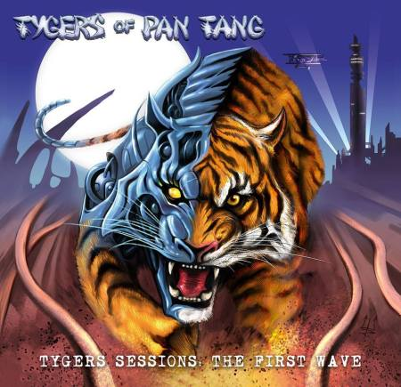 Tygers Of Pan Tang - Tygers Sessions - The First Wave - promo cover pic - #2015TOPPMO