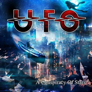 UFO - A Conspiracy Of Stars - promo album cover pic - #2015PMVM