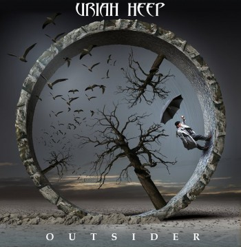 Uriah Heep - Outsider - promo album cover pic - #2014MB