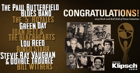2015 - Rock And Roll Hall of Fame - Inductees - promo banner - #2015SRV