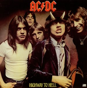 ACDC - Highway To Hell - promo album cover pic - #19BSMO