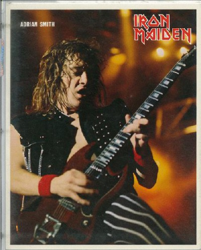 Adrian Smith - poster promo - circa early 80s - #7733MOAS