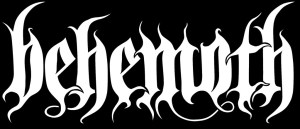 Behemoth - classic band logo - #2015BMO - 330220