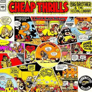 Big Brother & The Holding Company - Cheap Thrills - promo album cover pic - #7733SAMO