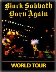 Black Sabbath - Born Again - World Tour - program promo - #198384MO